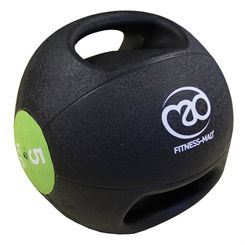 Fitness Mad 5kg Double Grip Medicine Ball