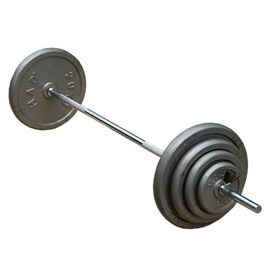 Fitness Mad 6 Inch Straight Bar