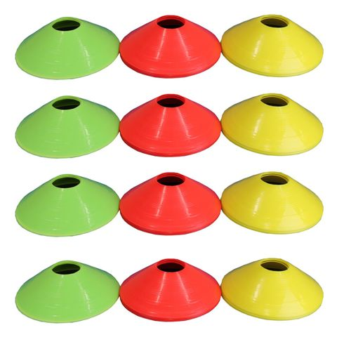 Fitness Mad Agility Cones - Pack of 12