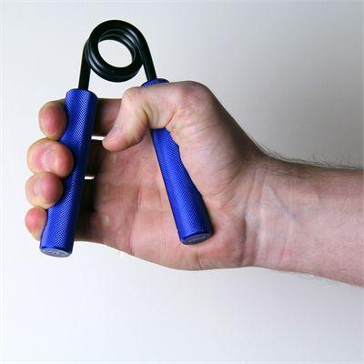 Fitness Mad Aluminium Hand Grip - L - In Use