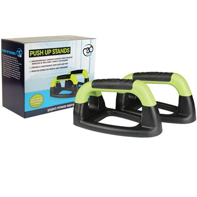 Fitness Mad Angled Push Up Stands-Box
