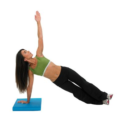 Fitness Mad Balance Pad in use img