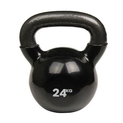 Fitness Mad Black Kettlebell - 24kg