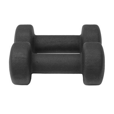 Fitness Mad Black Neoprene Dumbbells - 3kg c