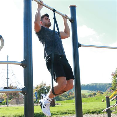 Fitness Mad Extra Strong Power Resistance Loop - In Use