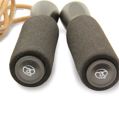 Fitness Mad Mad Leather Weighted Skipping Rope - Side
