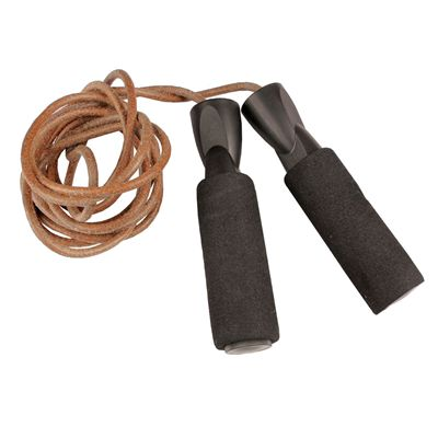 Fitness Mad Mad Leather Weighted Skipping Rope