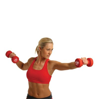 Fitness Mad Neo Dumbbell Pair 0.5kg - In Use Image