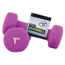Fitness Mad Neo Dumbbell Pair 1kg