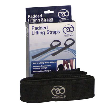 Fitness Mad Padded Lifting Straps
