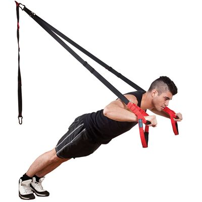Fitness Mad Pro Suspension Trainer - In Use