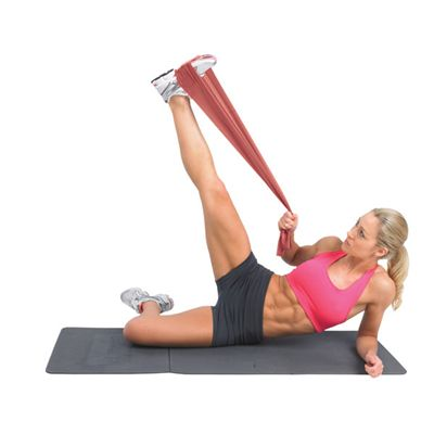 Fitness Mad Resistance Band Kit In Use Image