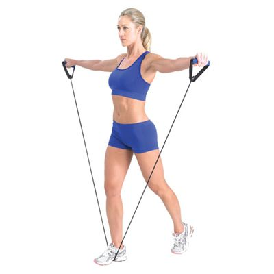 Fitness Mad Resistance Tube And User Guide In Use