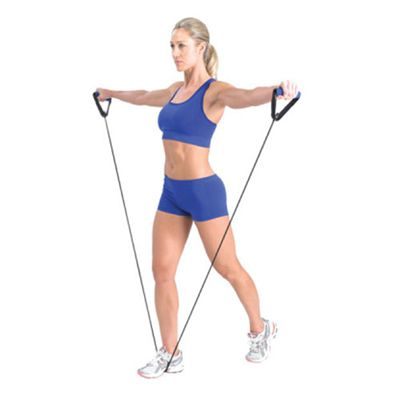 Fitness Mad Resistance Tube - In Use