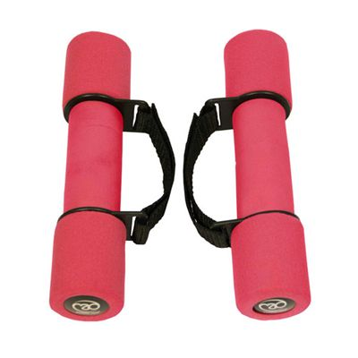 Fitness Mad Soft Dumbbells with handles - 2 x 1Kg