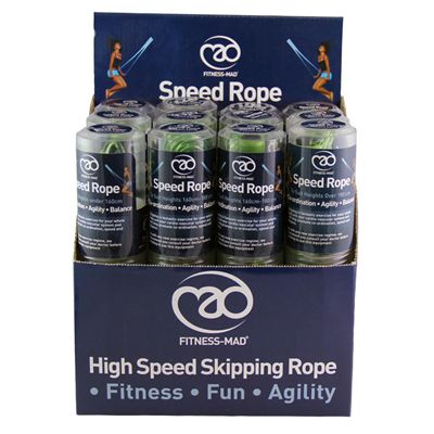 Fitness Mad Speed Rope - Box of 12 - package