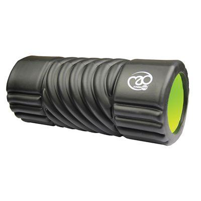 Fitness Mad Spiral EVA Foam Roller - Black