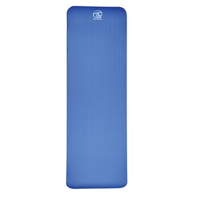 Fitness Mad Stretch Fitness Mat - Blue - Unfolded