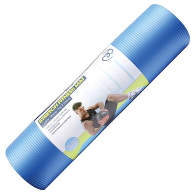 Fitness Mad Stretch Fitness Mat - Blue