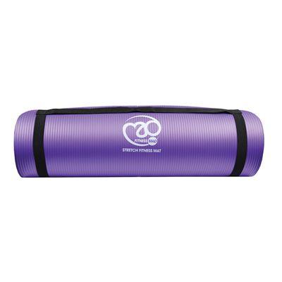 Fitness Mad Stretch Fitness Mat - Purple