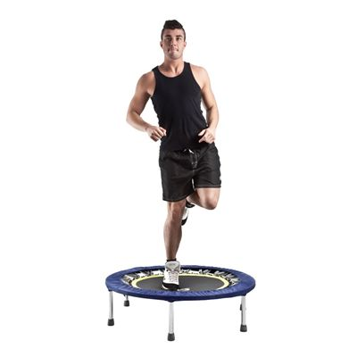 Fitness Mad Studio Pro 40in Rebounder-In use