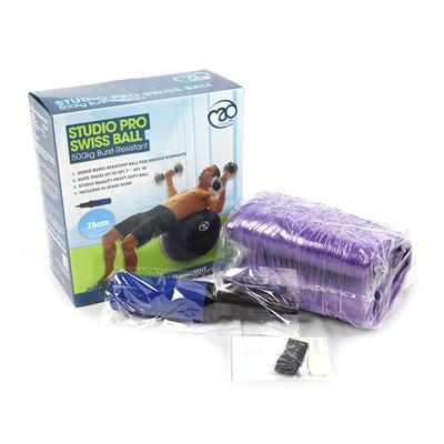 Fitness Mad Studio Pro 500Kg Swiss Ball and Pump - 75cm Box