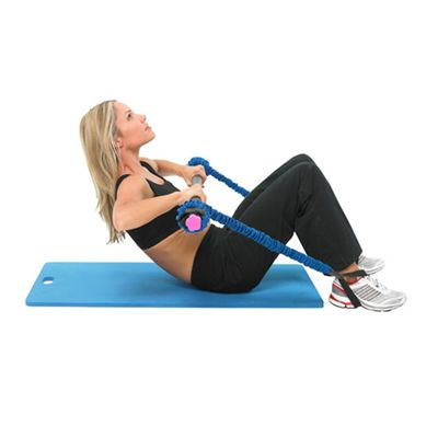 Fitness Mad Studio Pro Weighted Bar 4kg in Use