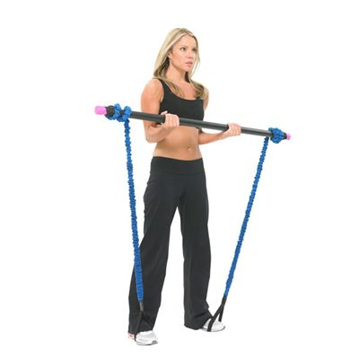 Fitness Mad Studio Pro Weighted Bar 5kg in Use