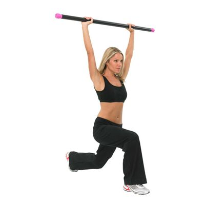 Fitness Mad Studio Pro Weighted Bar 6kg in Use
