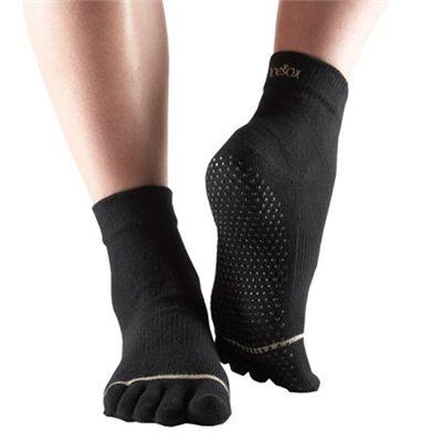ToeSox Full Sock Black