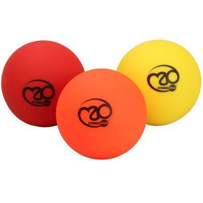 Fitness Mad Trigger Point Massage Ball Set - 3 Balls Image
