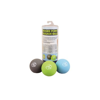 Fitness Mad Trigger Point Massage Ball Set - with Packaging