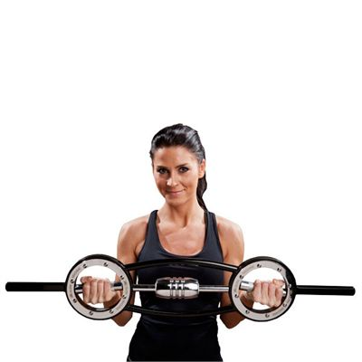 Fitness Mad Universal Barbell - 10kg In Use