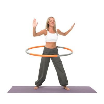Fitness Mad Weight Wave Hula Hoop 1.5Kg in Use