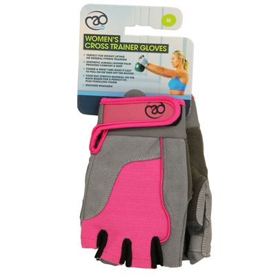 Fitness Mad Womens Cross Training Gloves Pink Small Image