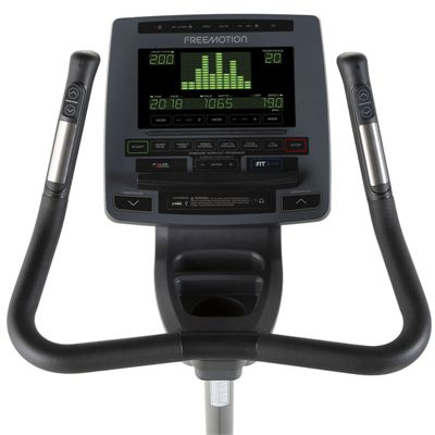 Freemotion U8.9b Upright Exercise Bike - Console