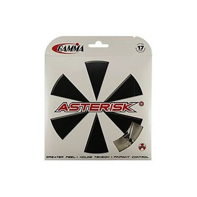 Gamma Asterisk 1.30mm Tennis String Set