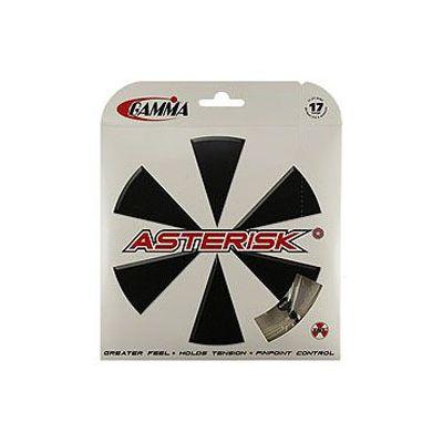 Gamma Asterisk 1.30mm Tennis String Set