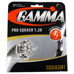 Gamma Live Wire Pro 1.20mm Squash String Set