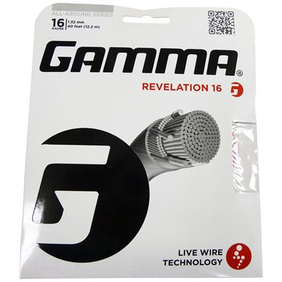 Gamma Live Wire Revelation 1.32mm Tennis String Set Image