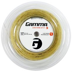 Gamma Live Wire XP 1.27mm Tennis String - 110m Reel