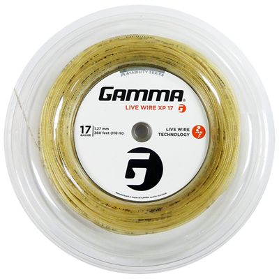 Gamma Live Wire XP 1.27mm Tennis String - 110m Reel Main Image