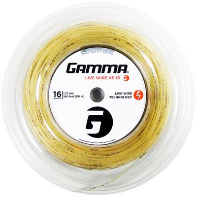 Gamma Live Wire XP 1.32mm Tennis String - 110m Reel Main Image
