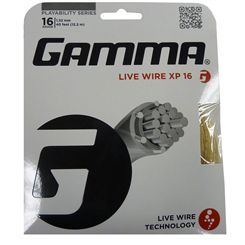 Gamma Live Wire XP 1.32mm Tennis String Set