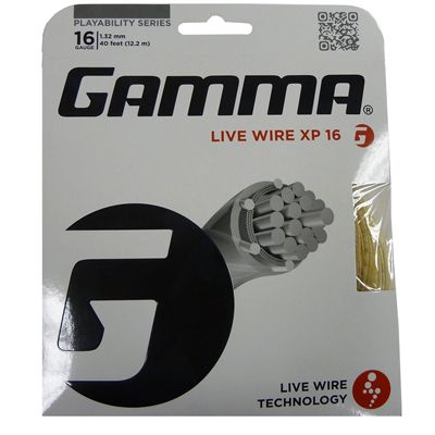 Gamma Live Wire XP 1.32mm Tennis String Set Image