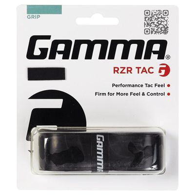 Gamma RZR Tac Racket Grip-Black