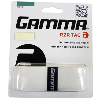 Gamma RZR Tac Racket Grip-White
