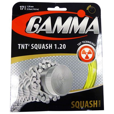 Gamma TNT2 1.20mm Squash String Set Image