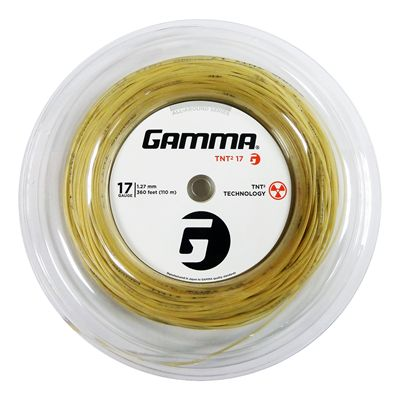 Gamma TNT2 1.27mm Tennis String-110m Reel