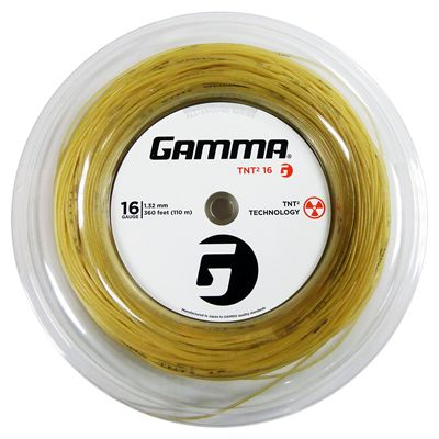 Gamma TNT2 1.32mm Tennis String-110m Reel